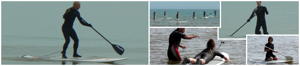 Stand Up Paddle avec Eolia Normandie