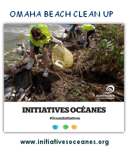 Omaha Beach Clean Up